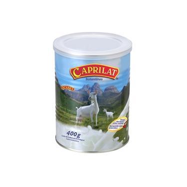 Leite de cabra em pó 400 grs caixa com 06 latas