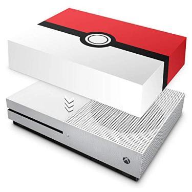 Capa Anti Poeira para Xbox One S Slim - Pokemon Pokebola