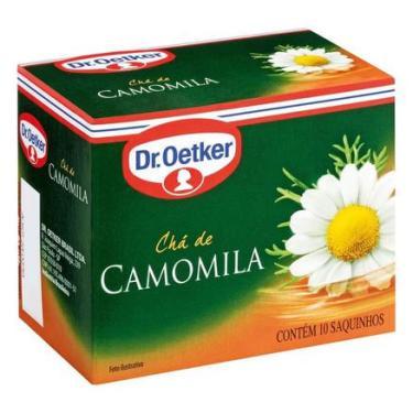 Chá de Camomila Dr. Oetker 10 Sachês Dr. Oetker