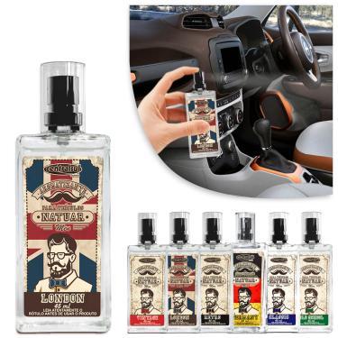 Aromatizante Automotivo Spray Natuar Men 45ml Centralsul Fragrâncias Masculinas London