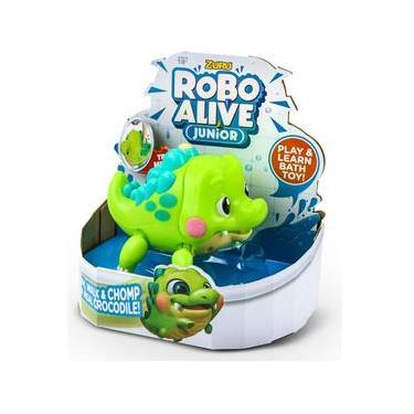 Imagem de Brinquedo Infantil Robo Alive Junior Jacarezinho Dtc 4491