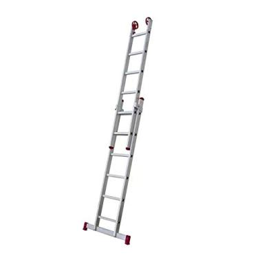 Escada de Alumínio Extensiva com 10 Degraus 1,49m ESC0614 BOTAFOGO