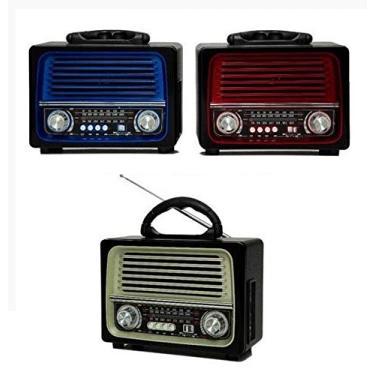 Imagem de Radio Retro Lelong Le-642 Bluetooth Am Fm Usb Sd Aux Bivolt