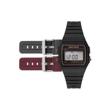 6becbd01c74 Relógio de Pulso Feminino Mormaii Digital Alarme