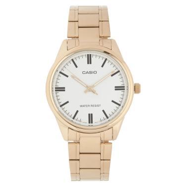2481bf01342 Relógio Feminino Casio Dourado MTP-V005G-7AUDF