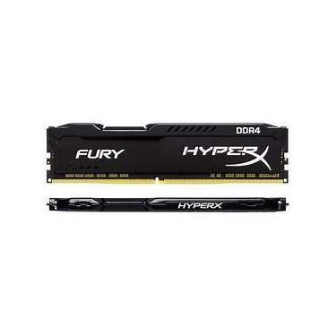 Memória RAM Kingston HyperX Fury 8GB DDR4 2400MHz Preto HX424C15FB/8