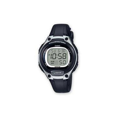 09123284c82 Relógio Feminino Casio Digital Esportivo 50atm Lw-203-1avdf