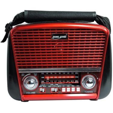 Radio Retrô Cnn 2255  Am Fm Entrada Usb Cartão Sd - Livstar