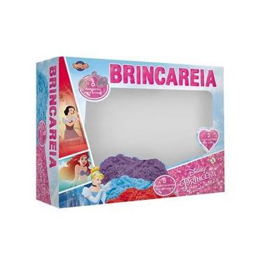 Imagem de Conjunto Areia de Modelar - Princesas Disney - Duas Cores com Três Moldes e Acessórios - Toyng