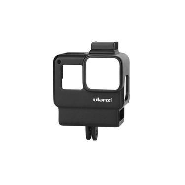 Suporte GoPro Hero 5 6 7 Black com Encaixe Adaptador Microfone Externo