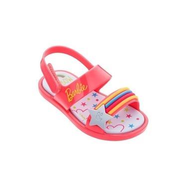 Sandália Barbie Baauty Baby Rosa Grendene Kids 22073