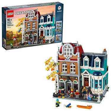 Imagem de LEGO Creator Expert Bookshop 10270 Modular Building Kit, Big Set and Collectors Toy for Adults, (2,504 Pieces)