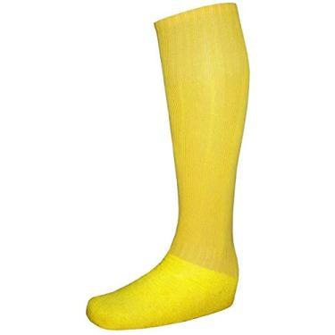 Meião Tradicional Reforçado Amarelo - Delfia