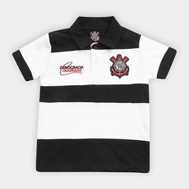 Camisas de Times de Futebol Casuais R  100 ou mais Corinthians ... 2eddfa7c7a1c2