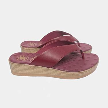 Sandália de Dedo Malu Super Comfort Amabel Feminino Marasca 36