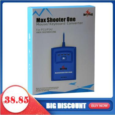 Mayflash Max Shooter UM Teclado e Mouse Adaptador Conversor para PS3/PS4 360/XBox/XBox One/Xbox one