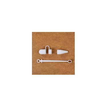 Imagem de Ipad Silicone caneta de toque Anti-perdida Cap Adapter luva de silicone de três peças Set-Sour candy