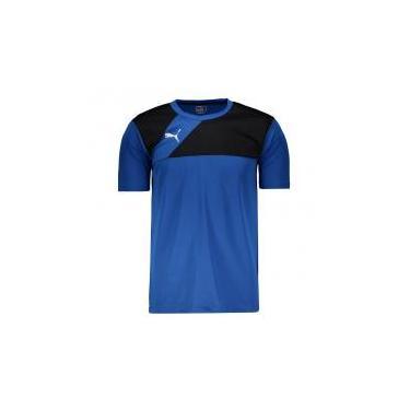 699000b9d Blusa Esportiva Puma Azul | Moda e Acessórios | Comparar preço de ...