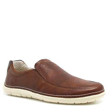 0fcf59ba2d Sapato Masculino Mocassim Democrata Sharp Couro