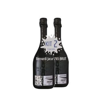 Espumante Italiano Prosecco Bernardi Jacur 765 Brut - Kit 2 garrafas