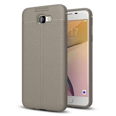 Capa para Samsung Galaxy On7 (2016), capa de couro sintético para Galaxy On7 (2016), capa macia de TPU antiderrapante para Samsung Galaxy On7 (2016) [não serve para Galaxy On7 / On7 Pro]