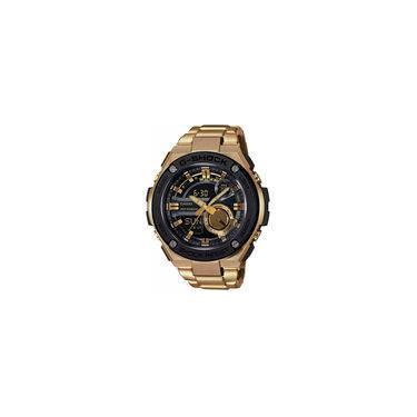 8244fb595fe Relógio Casio G-shock Steel Gold - Gst-210gd-1adr