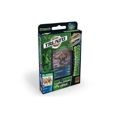 Imagem de Super Trunfo Dinossauros - Jogo De Cartas - Grow