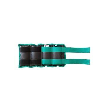 Tornozeleira / Caneleira De Peso Vip G&H Sport - Verde 4 Kg