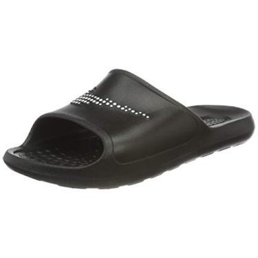 Imagem de Chinelo Nike Victori One Shower Slide Black White Masculino TAMANHO:43;COR:Preto;GENERO_GOOGLE:Masculino;IDADE_GOOGLE:Ad