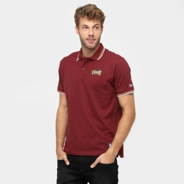 Camisa Polo New Era NBA Team Color Cleveland Cavaliers - Masculino 4dc8cd65f0020