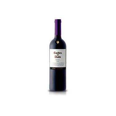 Vinho Tinto Chileno Casillero del Diablo Merlot 750ml