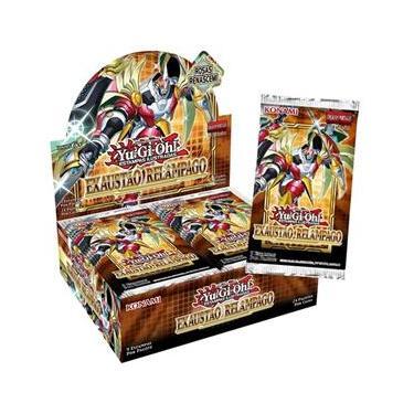 Imagem de Booster Box Exaustão Relâmpago Yu-Gi-Oh! Konami Card Game