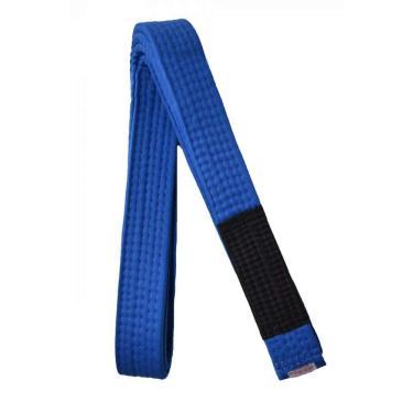 Faixa Jiu Jitsu Ponta Preta Keiko Sports Unissex A4 (3,0m) Azul