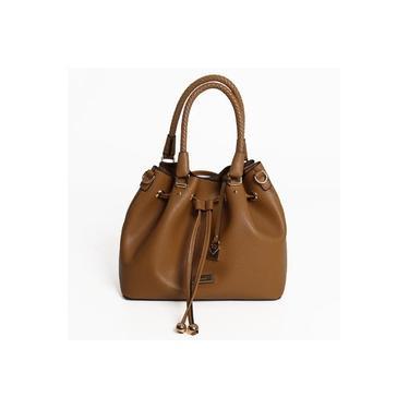 Bolsa Bliss Bags Taupe Adulta Feminina