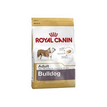 Ração Royal Canin para Cães Adultos da Raça Bulldog - 12Kg