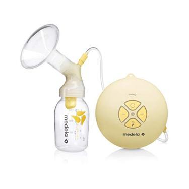 Extrator elétrico de leite Swing, Medela, Amarelo