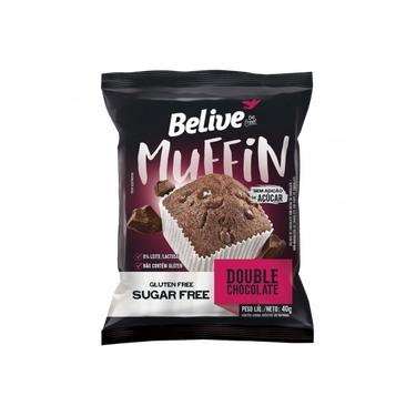 Muffin BeLive Double Chocolate ZERO 40g