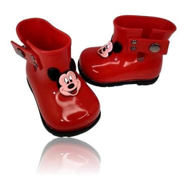 Imagem de Bota Galocha Borracha Infantil Menina Disney Friends Minnie
