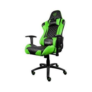 Cadeira Gamer Profissional Tgc12 verde Gas Lift 80 MM Ajustavel 90° - 180° 350mm Metal