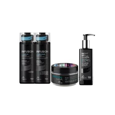 Truss Infusion Sh + Cond + Night Spa Serum + Specific Mask