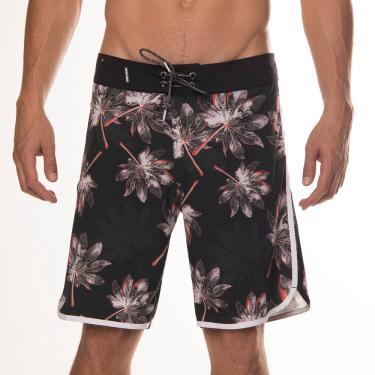 Boardshort masculino sublimado hit mormaii Estampa-cinza 42