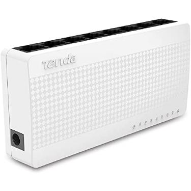 Switch Ethernet 10/100 MBps, Tenda, Switches de Rede, Branco