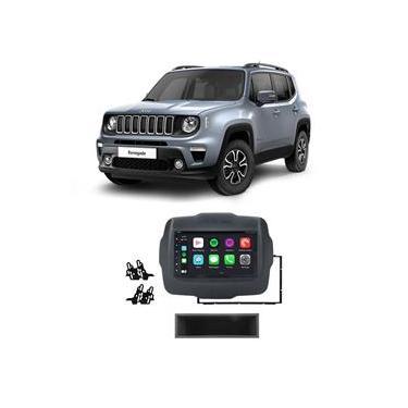 Central Multimídia Jeep Renegade 2015 A 2020 Dvd Cd Mp5 Espelhamento Ios Android Bt Usb