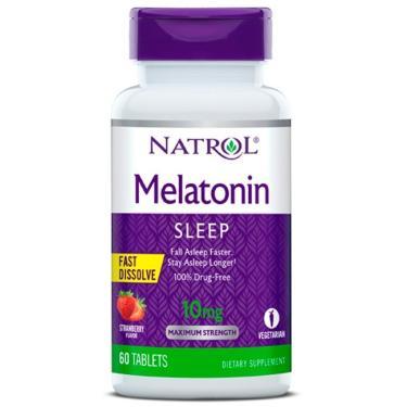 Melatonina 10mg Fast Dissolve - Natrol