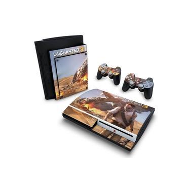 Skin Adesivo para PS3 Fat - Uncharted 3