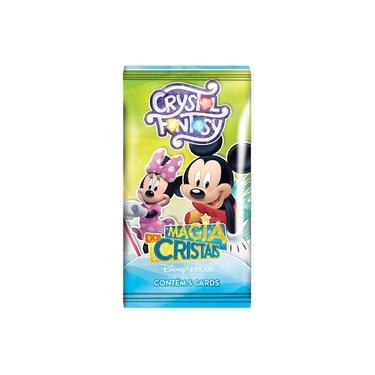 Imagem de Box Boosters Disney Copag Crystal Fantasy Display Com 36