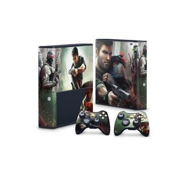 Skin Adesivo para Xbox 360 Super Slim - Splinter Cell Conviction