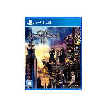 Jogo Kingdom Hearts 3 - Brinde Steelbook - PS4