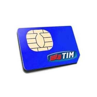 Chip Tim 4g Pré-pago Para Qualquer Ddd