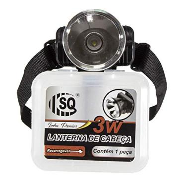 Lanterna Cabeça LED Super Potente Recarregável SQ-3810